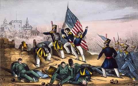 defensa del castillo de chapultepec