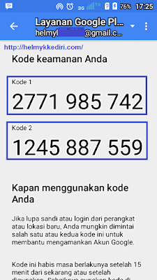 Verifikasi login akun gmail dengan ponsel4