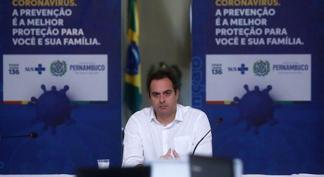Governo de Pernambuco altera decreto e intensifica ações para conter curva de contaminação da Covid-19