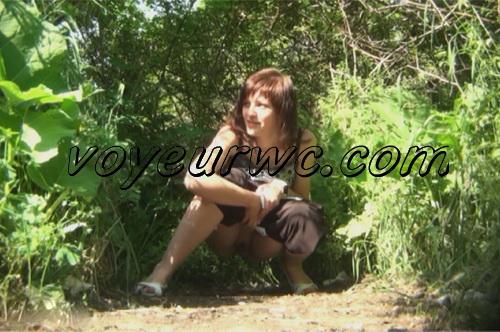 PissHunters 8930-8945 (Outdoor voyeur peeing. Voyeur public toilet spy cam)