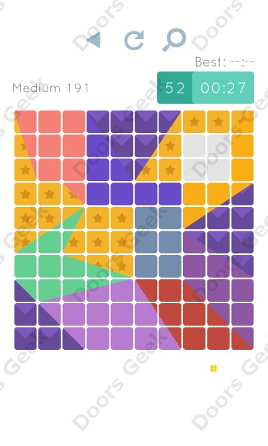 Cheats, Walkthrough for Blocks and Shapes Medium Level 191