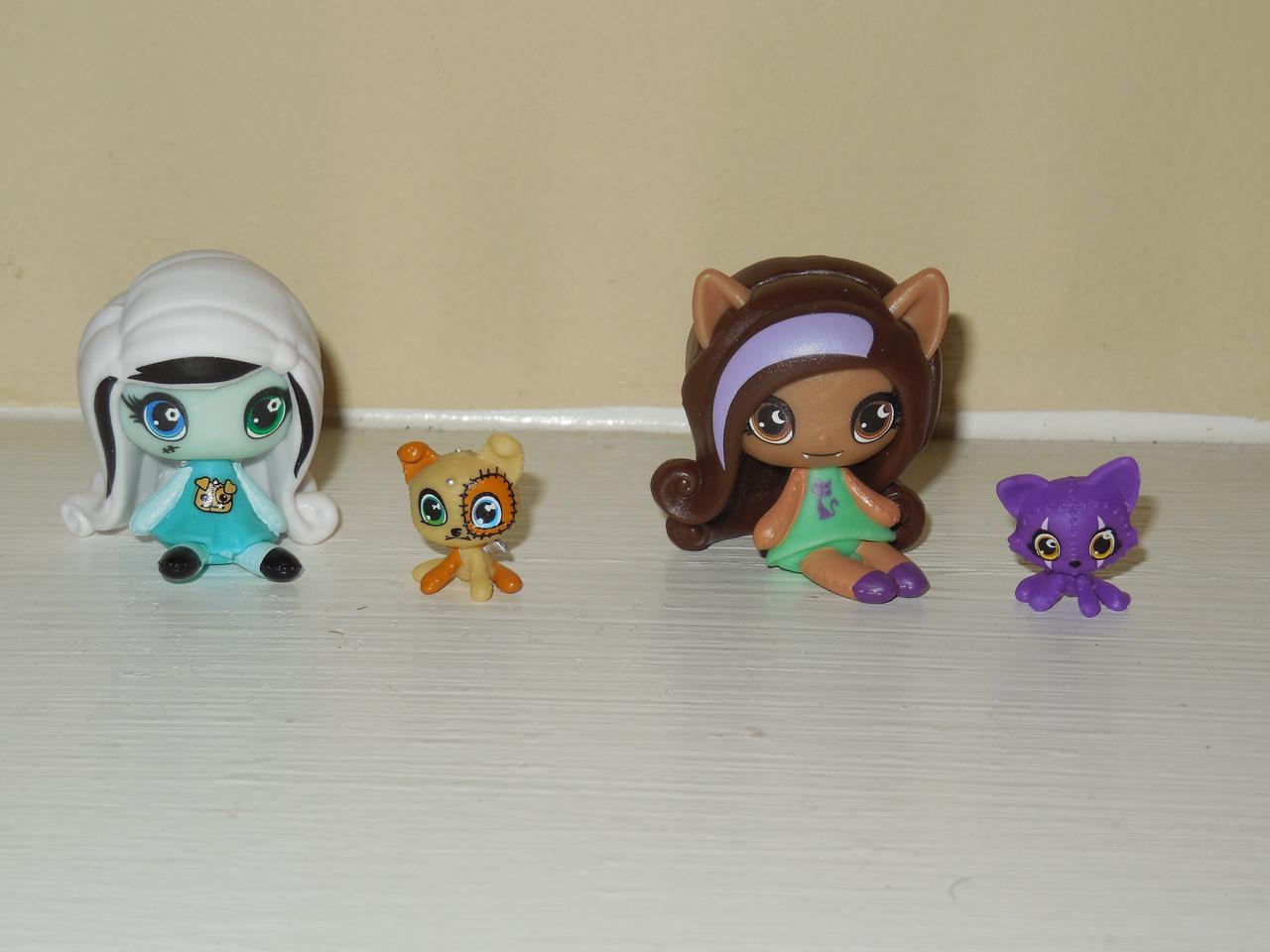 Veni Vidi Dolli Review Monster High Pet Minis