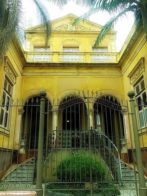 Residência do Barão de São Luís, em Pelotas