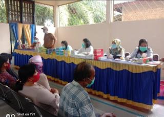 Pemerintah Desa Sei Raja Menggelar Pengobatan Gratis Untuk Lansia