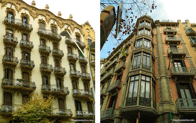 Arquitetura modernista, Barcelona