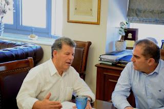 Σύσκεψη και επαφές Δήμου Καλαμάτας – Π.Ε. Μεσσηνίας