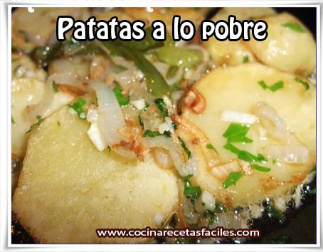 Recetas sin categoria , patatas a lo pobre
