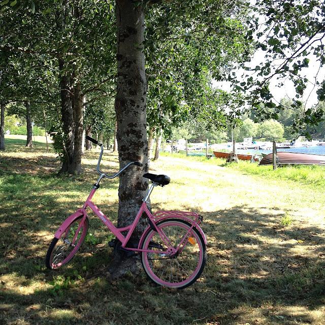 polkupyörä, vene