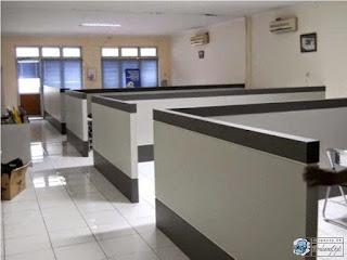 Kontraktor Interior - Partisi Sekat Ruang Kantor
