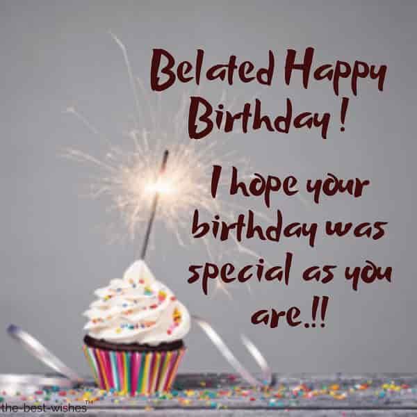 belated happy birthday wishes to employee