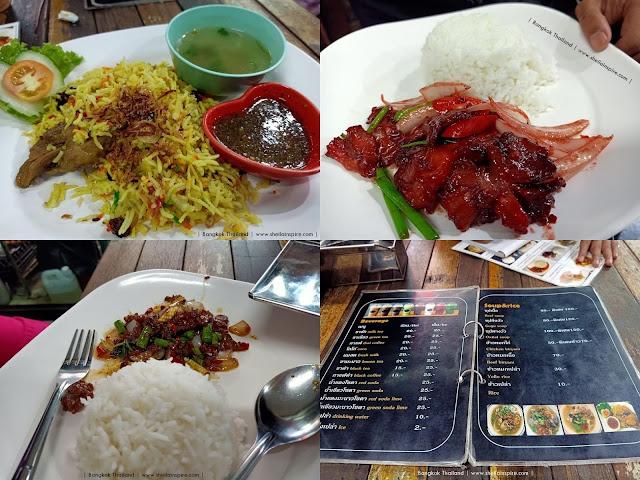 Travelogue Thailand Part III: Restoran Halal di Bangkok Soi 17/1 Sedap Lagi Murah