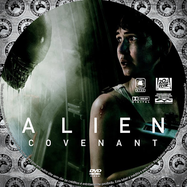 Label DVD Alien Covenant [Exclusiva]