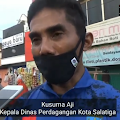 Dikembalikan Kelokasi Semula, Dinas Pasar Salatiga Ancam Akan Terapkan Ganjil Genap Jika Pedagang Pasar Pagi Tidak Patuhi Protokol Kesehatan