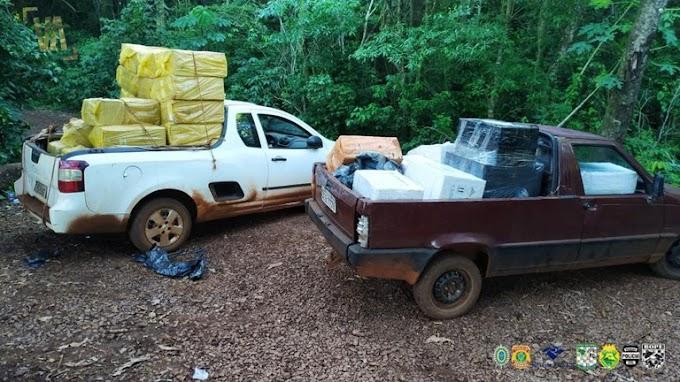 450kg de agrotóxicos são apreendidos pela Policia Federal em Guaíra
