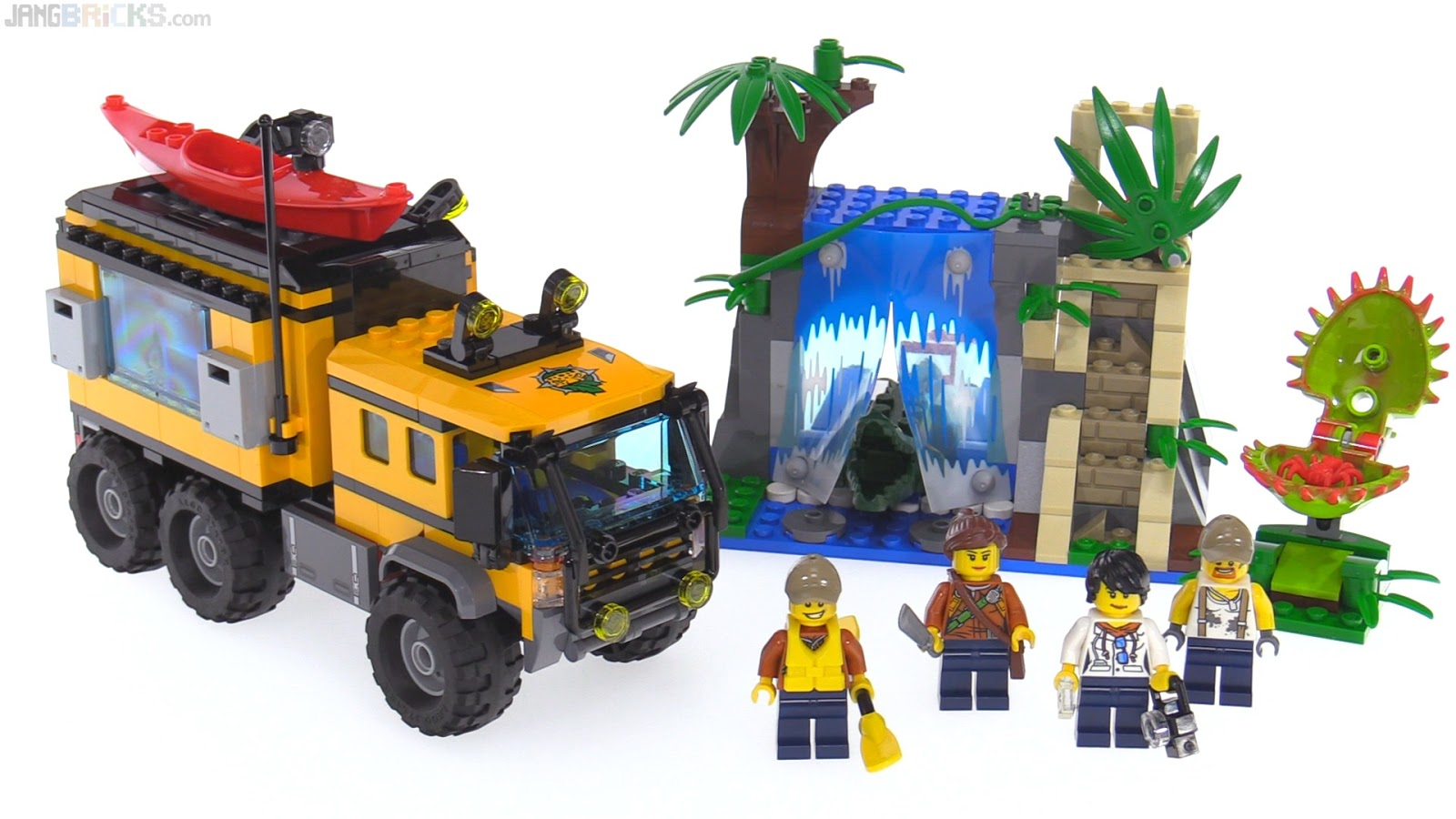 LEGO City Jungle Mobile Lab review 60160