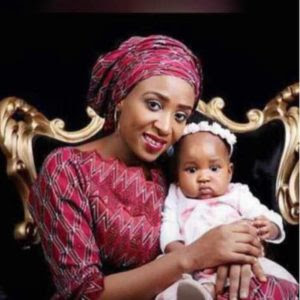 Husband Killer Maryam Sanda throws daughter a birthday party, days after bail