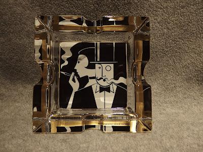 RitzenHoff Michael  Sieger 10㎝角 灰皿 リッツェンホフ Smoking Gendrier Design 1998 ドイツ