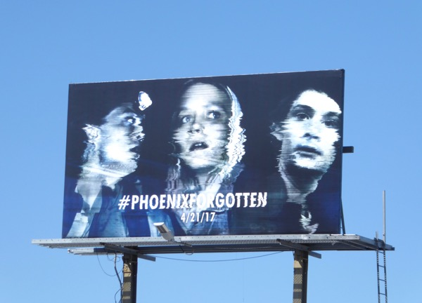 Phoenix Forgotten movie billboard