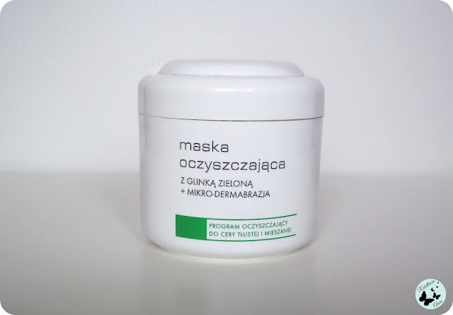 Moja recenzja - maska oczyszczająca z zieloną glinką od Ziaja Pro