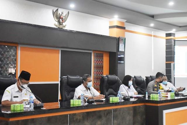 Rapat Persiapan Belajar Tatap Muka PAUD Hingga SMP Se-Kabupaten Sintang