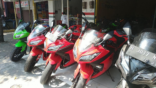 daftar harga motor bekas kawasaki ninja 250 fi di semarang by inuk otovlog