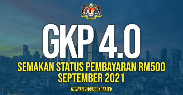 pembayaran gkp 4.0 berjumlah RM1,500 dan akan dibayar secara berperingkat pada bulan julai, september dan november