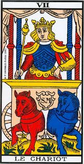 El Carro. Arcano VII- Tarot de Marsella