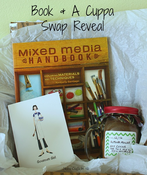 book cup swap mixed media handbook hot cocoa blogger