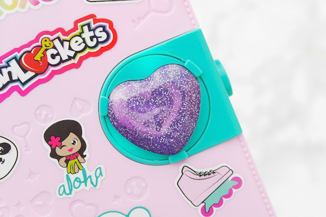 funlockets diary with purple heart