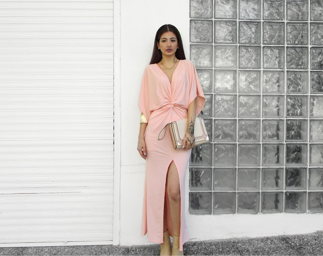 pink gold outfit ideas