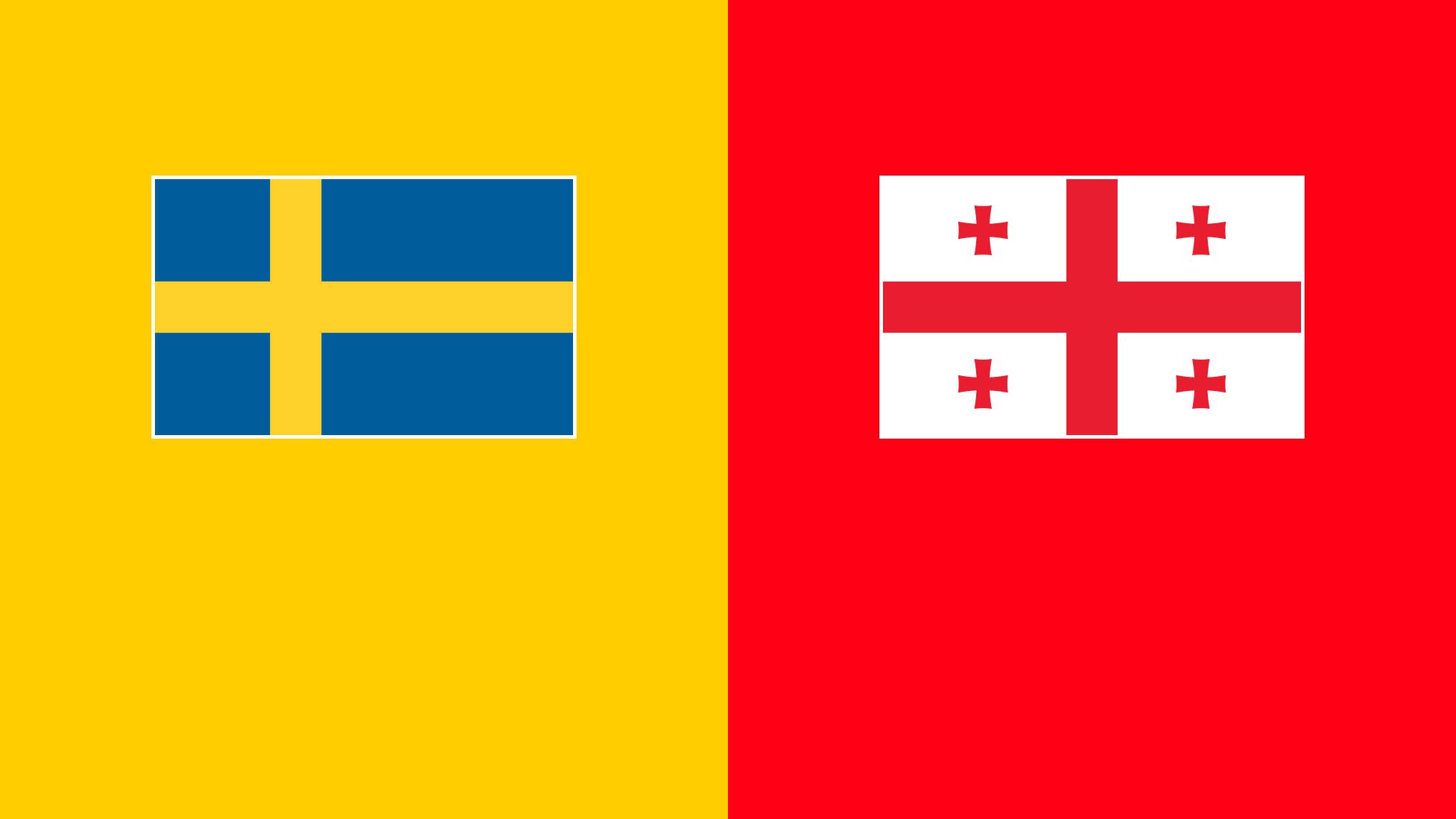 مباراة السويد وجورجيا اليوم