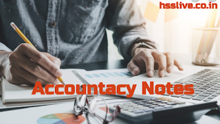 Hsslive Plus Two(+2) Accountancy Notes & Plus One (+1) Accountancy Notes PDF Download