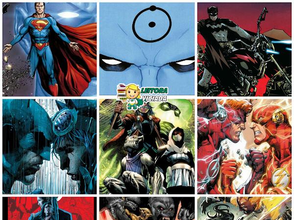 Lançamentos: Panini Comics - DC Comics (incluindo Vertigo e Hanna-Barbera)
