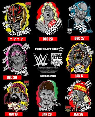 WWE Royal Rumble T-Shirt Collection by Jesse Hernandez x Foot Action