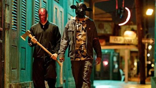 noite de crime série