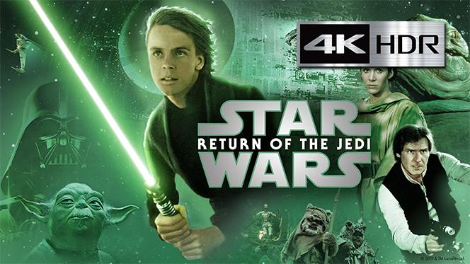 El regreso del Jedi (1983) REMUX 4K UHD [HDR] Latino-Castellano-Ingles