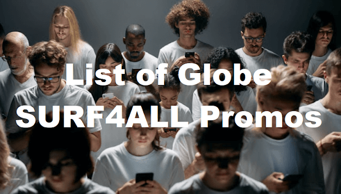 List of Globe SURF4ALL Promos: up to 20GB of Shared Data