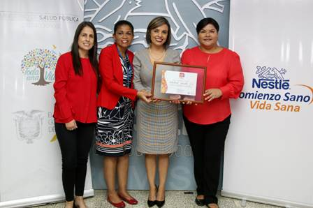 Nestlé recibe certificación de Empresa Amiga de la Lactancia