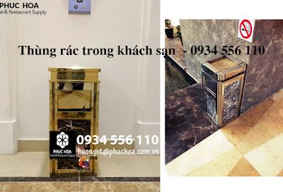 Thùng rác cao cấp khách sạn Hà Nội