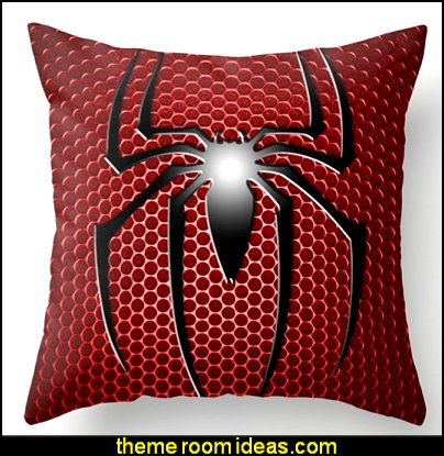 RED SPIDER Throw Pillow