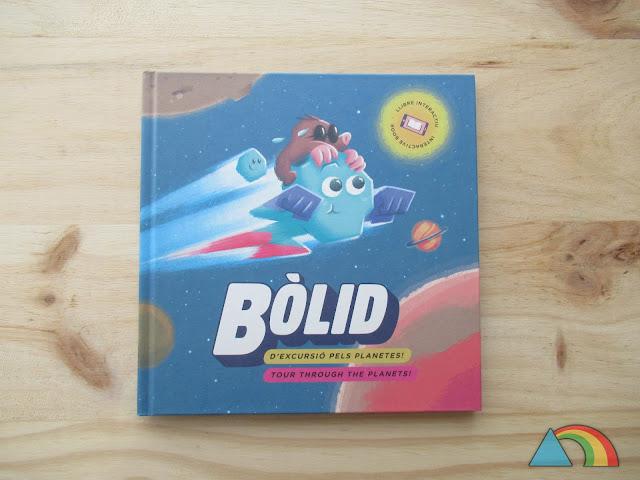 Portada del libro Bòlid, d'excursió pels planetes!
