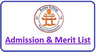 Katwa College Merit List