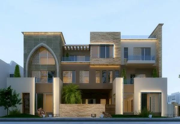 افخم تصاميم واجهات منازل حديثة 2020 افضل 40 واجهة ملكية ستسحرك