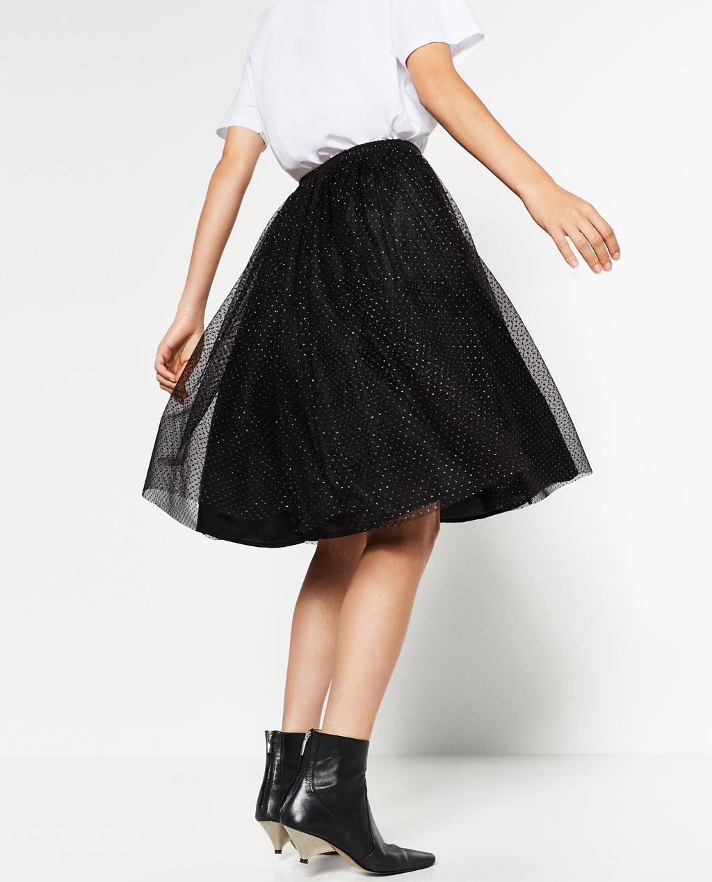 47bbc624abc ... se llevan mucho las faldas de tul estilo bailarina, también veremos  algunos vestidos con este estilo y las míticas bailarinas atadas o con  lazada que ya ...