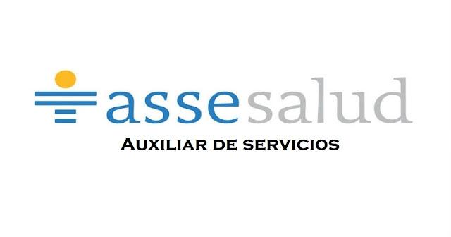 Auxiliares de servicio - ASSE - Marzo 2019