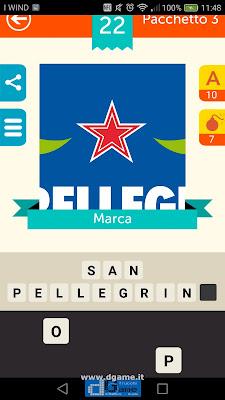 Iconica Italia Pop Logo Quiz soluzione pacchetto 3 livelli 22-50