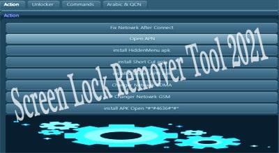 Screen Lock Remover Tool 2021