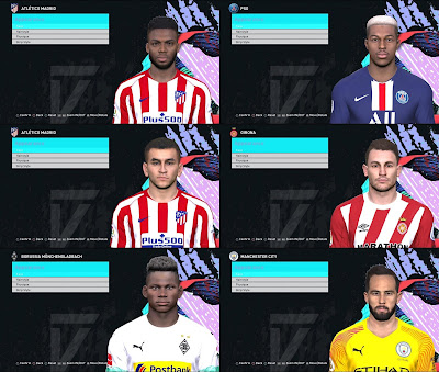 PES 2017 Konami Faces Update V4 by Mirukuu