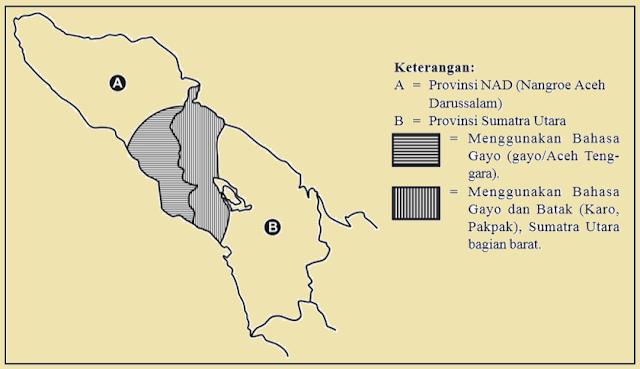 daerah yang menggunakan bahasa Gayo