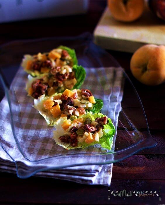 receta coreana de morcon iberico y melocoton
